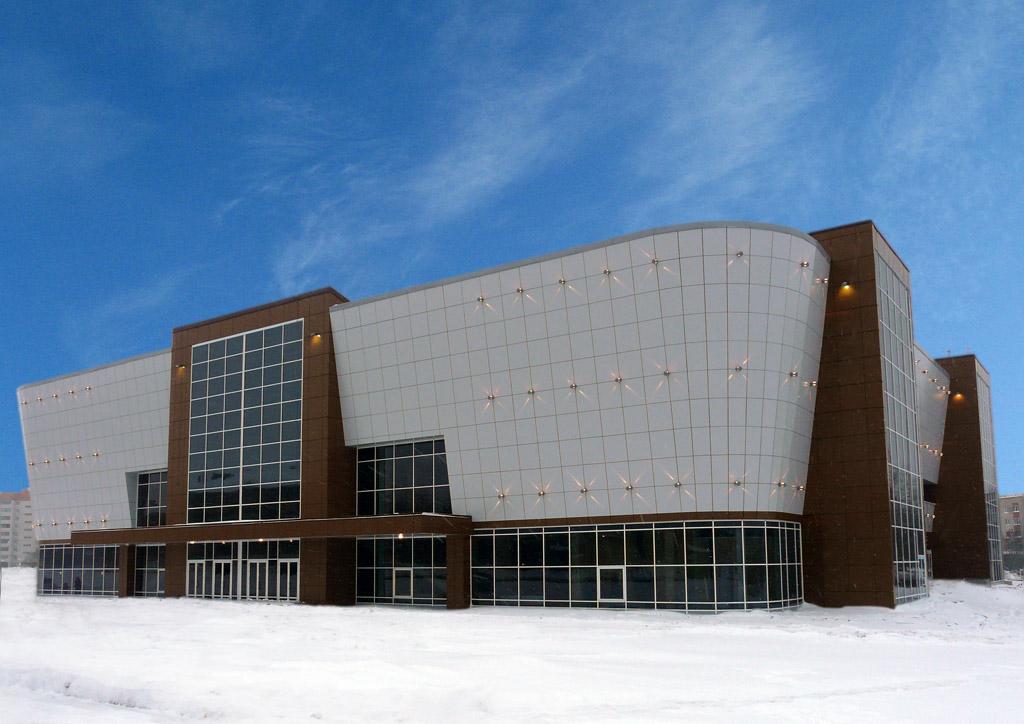 Дворец спорта в г.Вологда